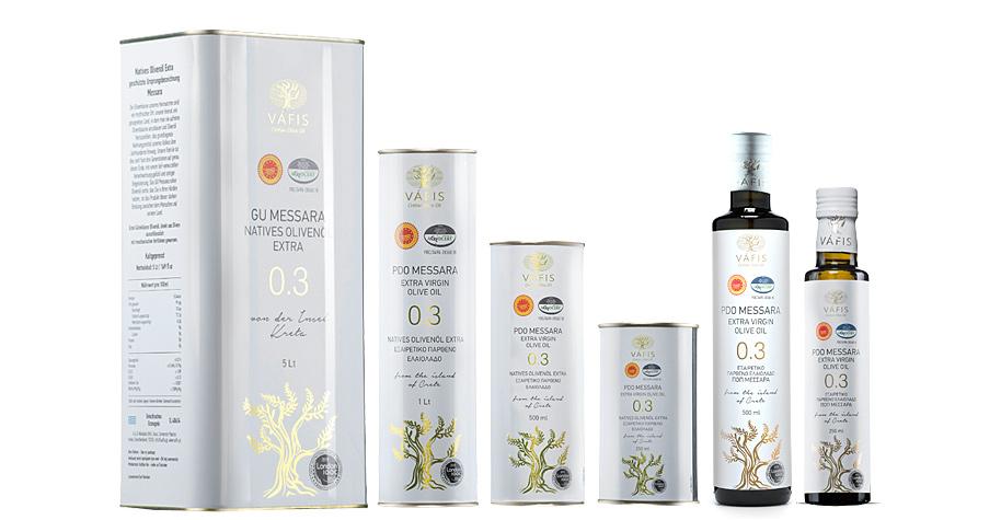 Vafis PDO Messara Extra Virgin Olive Oil